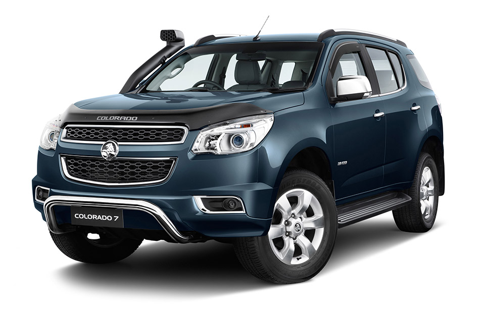 2012 Holden Colorado 7 SUV Front