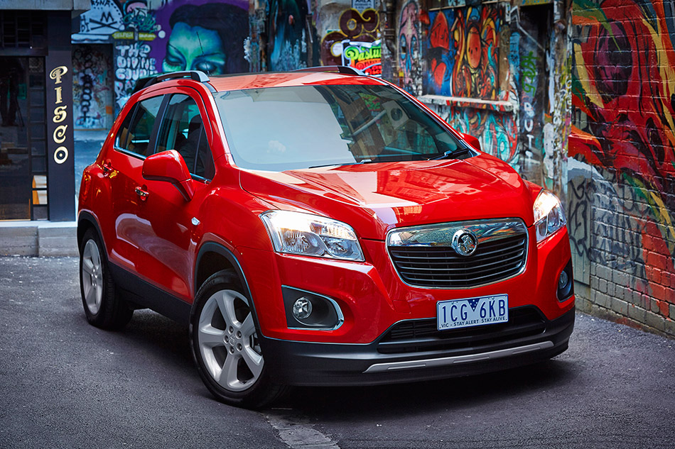 2015 Holden Trax LTZ Front Angle