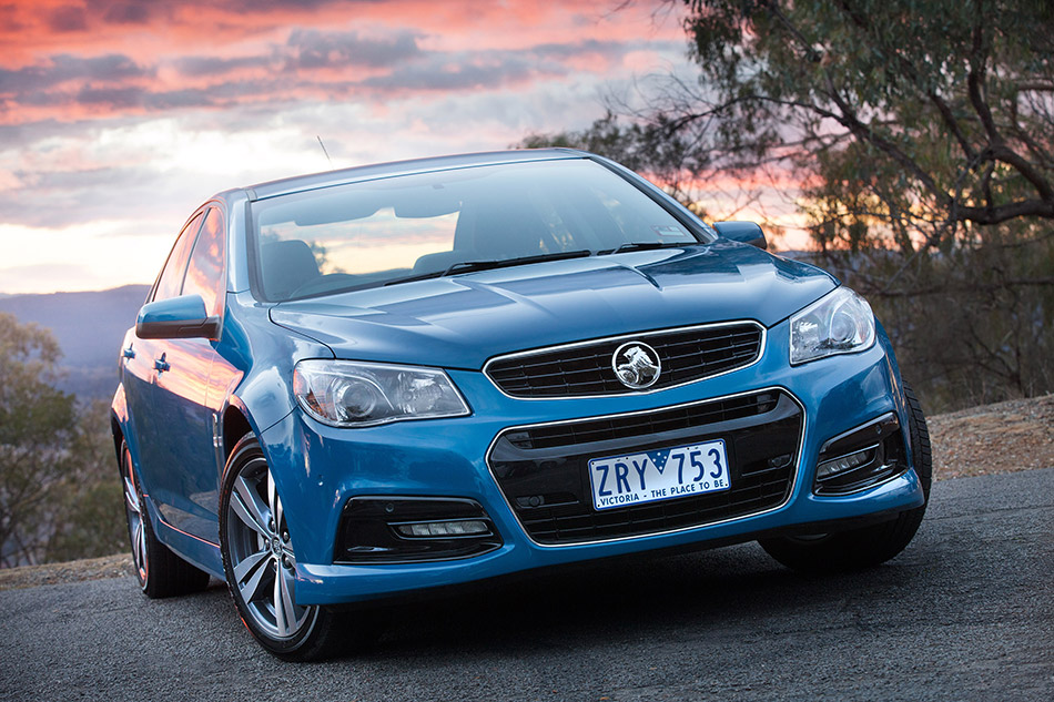2014 Holden VF Commodore SV6 Front Angle