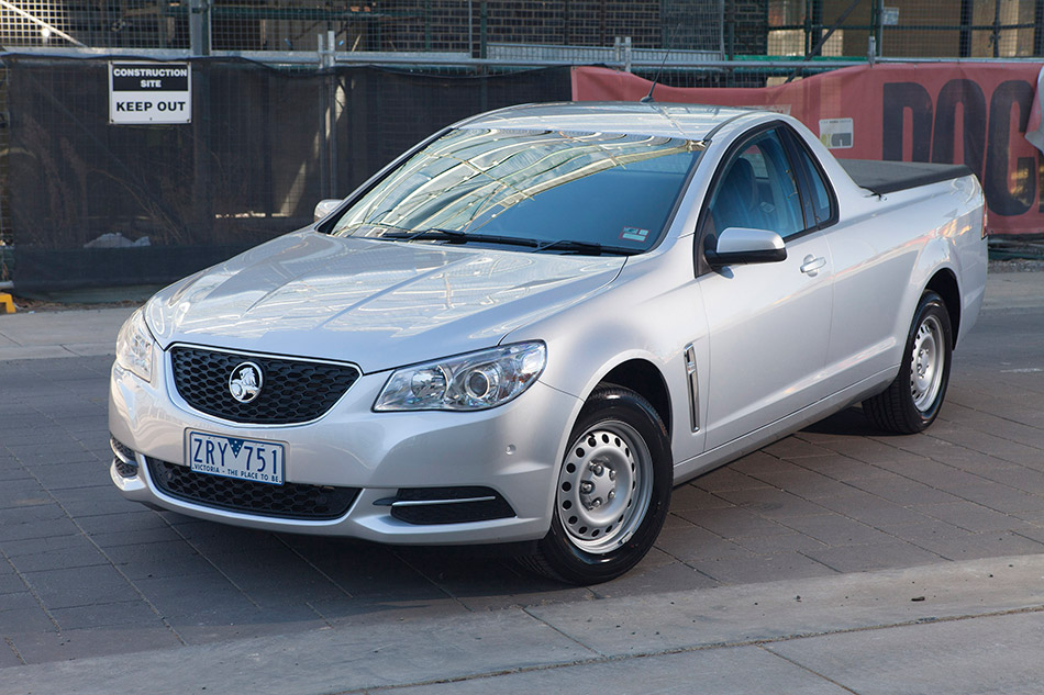 2014 Holden VF Commodore Ute Front Angle