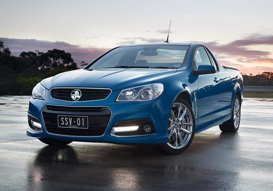 2014 Holden VF Commodore Ute SSV Redline Front Angle