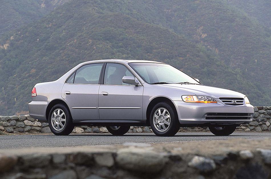2002 Honda Accord SE Front Angle