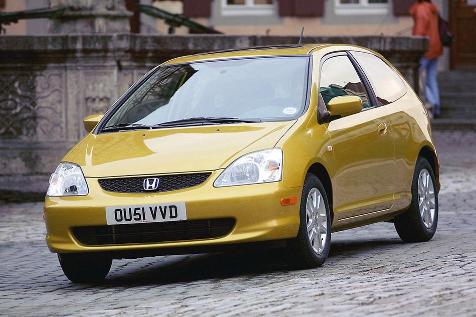 2002 Honda Civic Si Front Angle