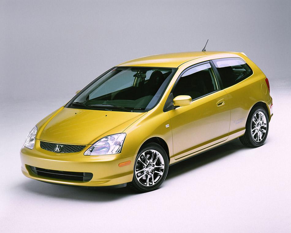 2001 Honda Civic Si Concept Front Angle