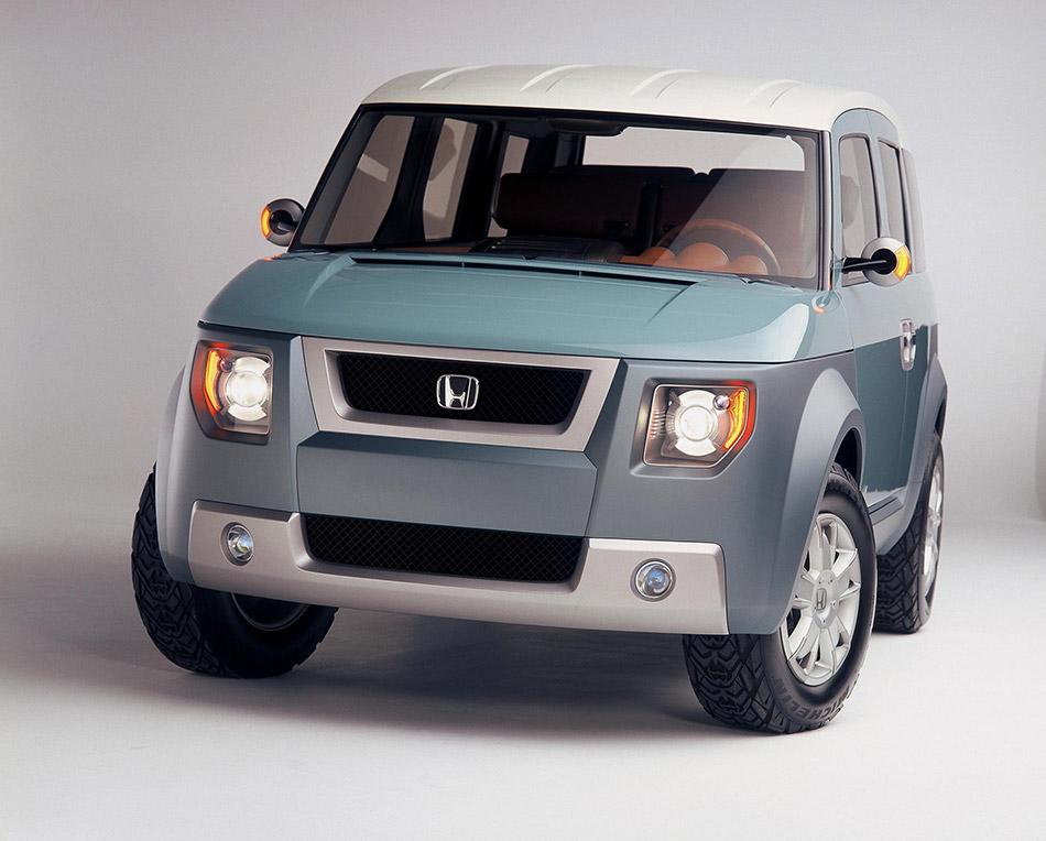 2001 Honda Model X Concept Front Angle