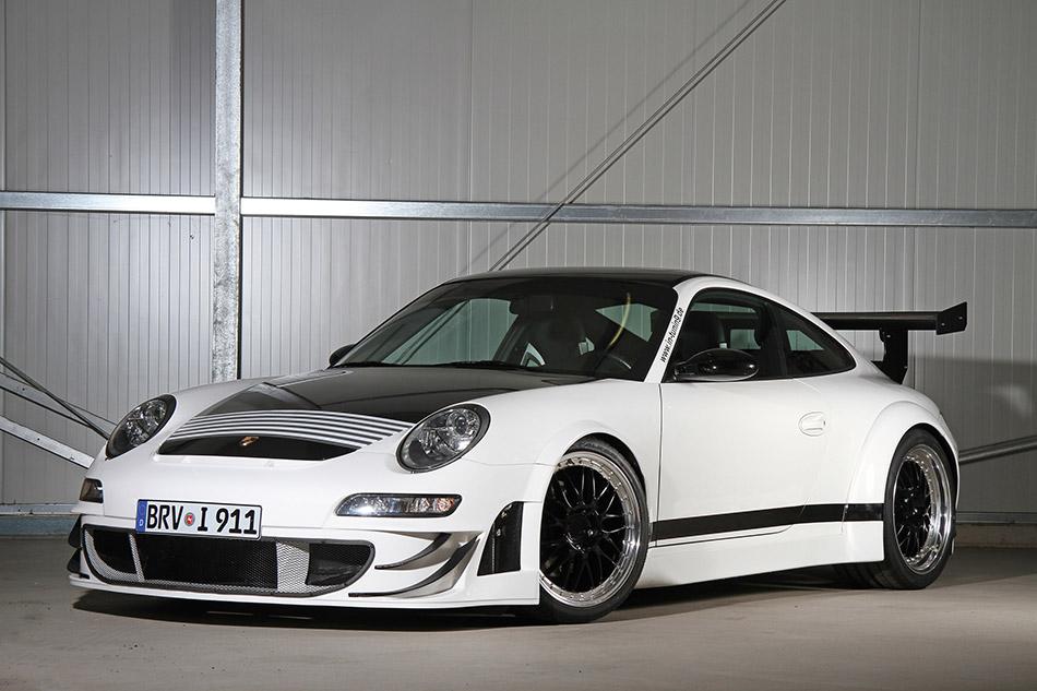 2014 Ingo Noak Porsche 997 Front Angle