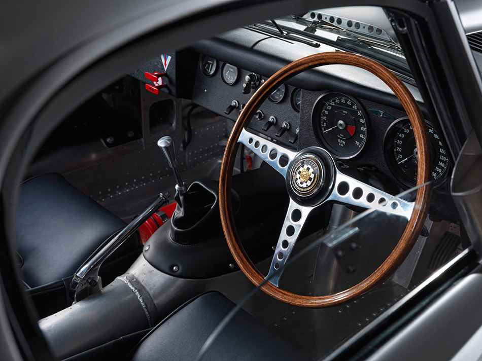 2014 Jaguar Lightweight E-Type Interior