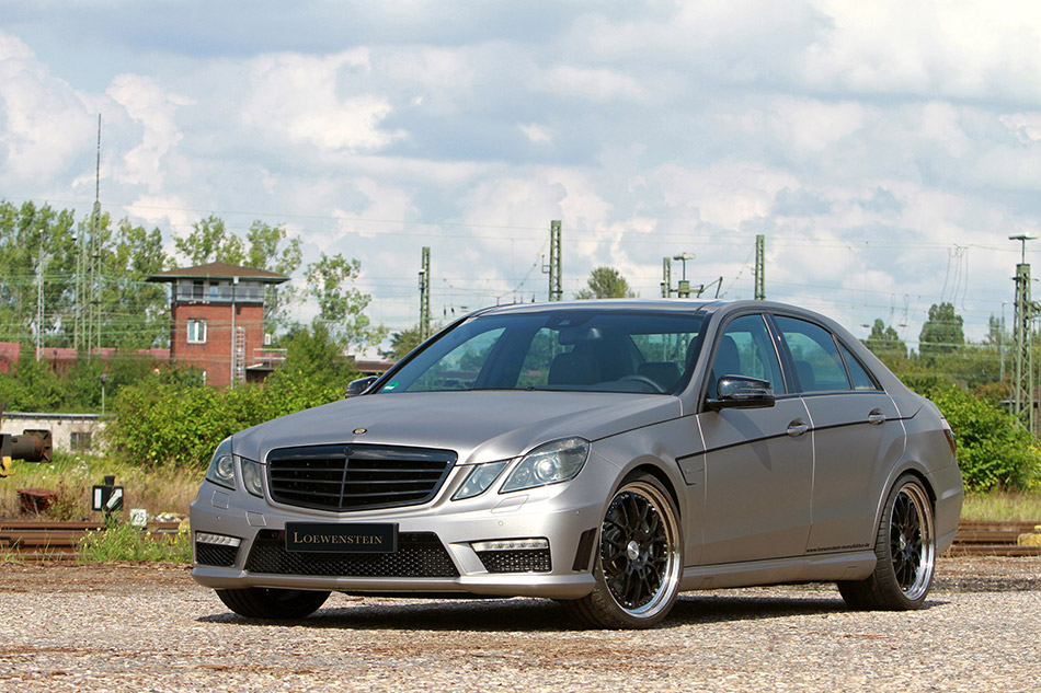 2014 Loewenstein Mercedes-Benz E63 AMG Front Angle