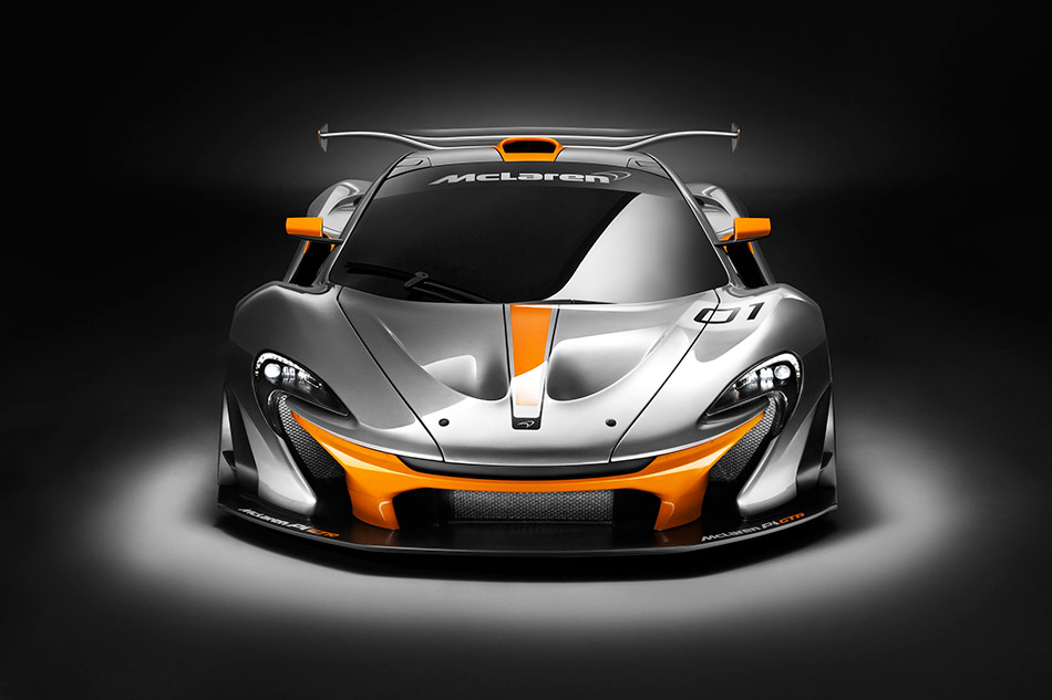 2014 McLaren P1 GTR Concept Front Angle