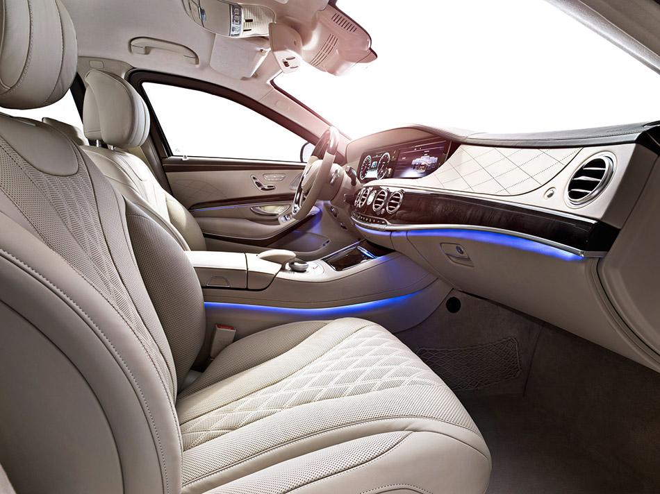 2014 Mercedes-Benz S 600 Guard Interior