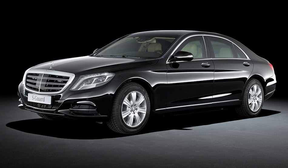 2014 Mercedes-Benz S 600 Guard Front Angle