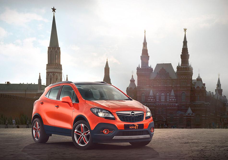 2014 Opel Mokka Moscow Edition Front Angle