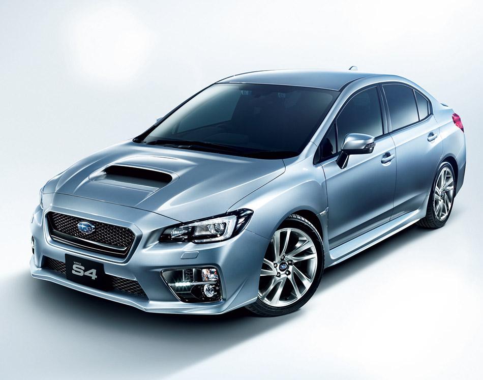 2015 Subaru WRX S4 Front Angle