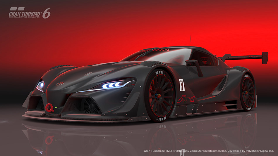 2014 Toyota FT-1 Vision Gran Turismo Front Angle