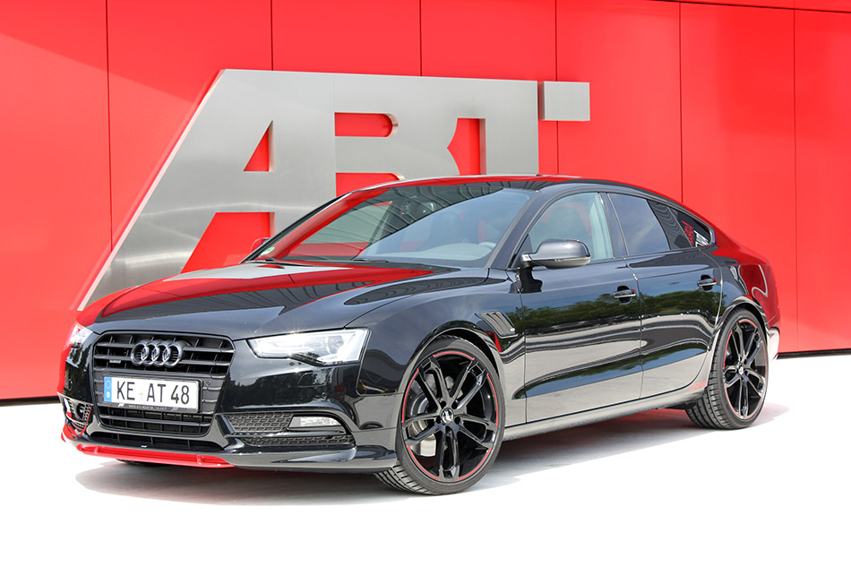 2014 ABT Audi AS5 Dark Front Angle