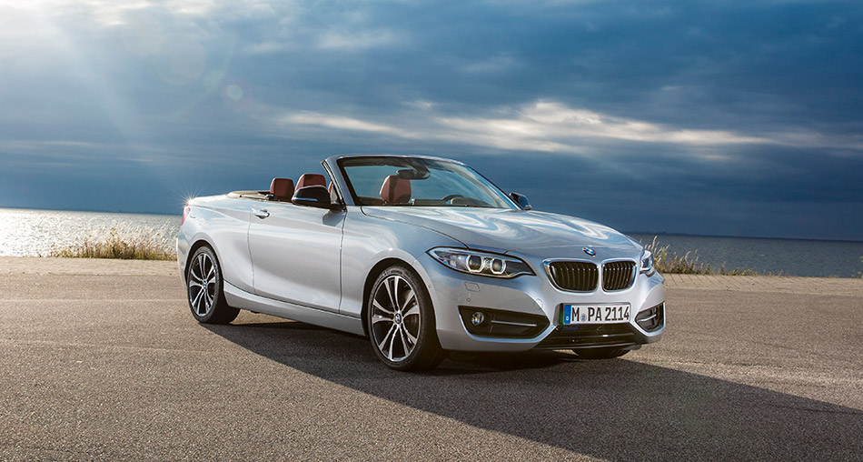2015 BMW 2-Series Convertible Front Angle