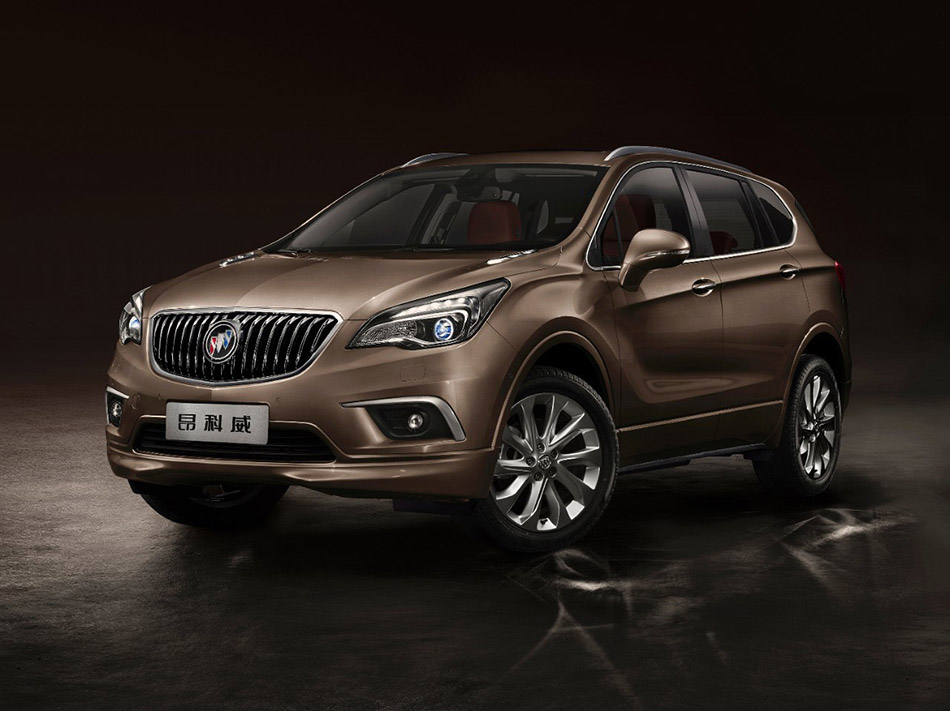 2015 Buick Envision Front Angle