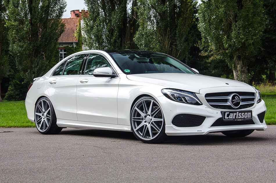 2014 Carlsson Mercedes-Benz C-Class AMG W205 Front Angle