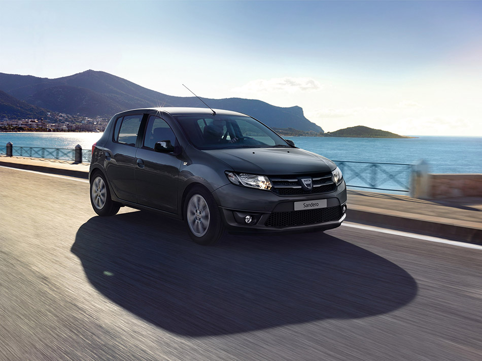 2014 Dacia Sandero Black Touch Limited Edition Front Angle