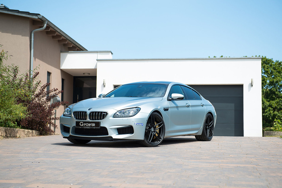 2014 G-POWER BMW M6 Gran Coupe Front Angle
