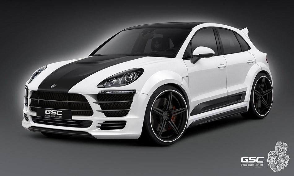 2014 GSC Porsche Macan Front Angle