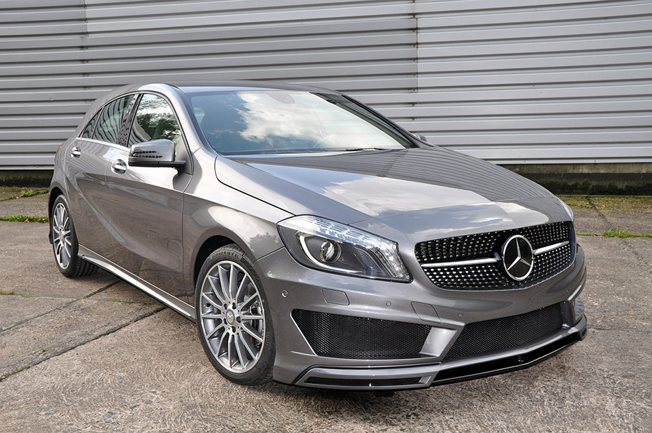 2014 German Special Customs Mercedes-Benz A-Class Front Angle