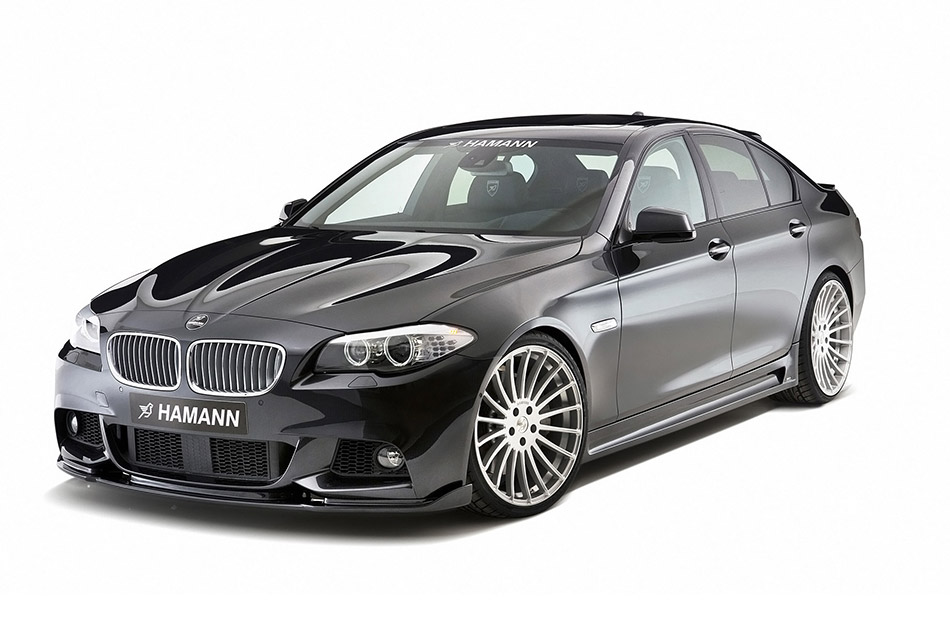 2011 Hamann BMW 5-Series F10 M Technik Front Angle