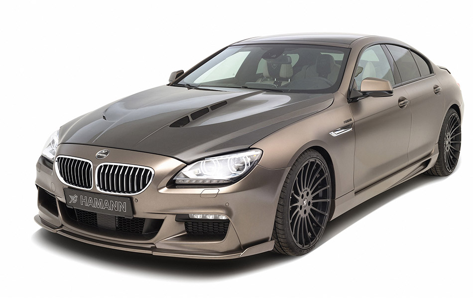 2013 Hamann BMW 6-Series Gran Coupe Front Angle