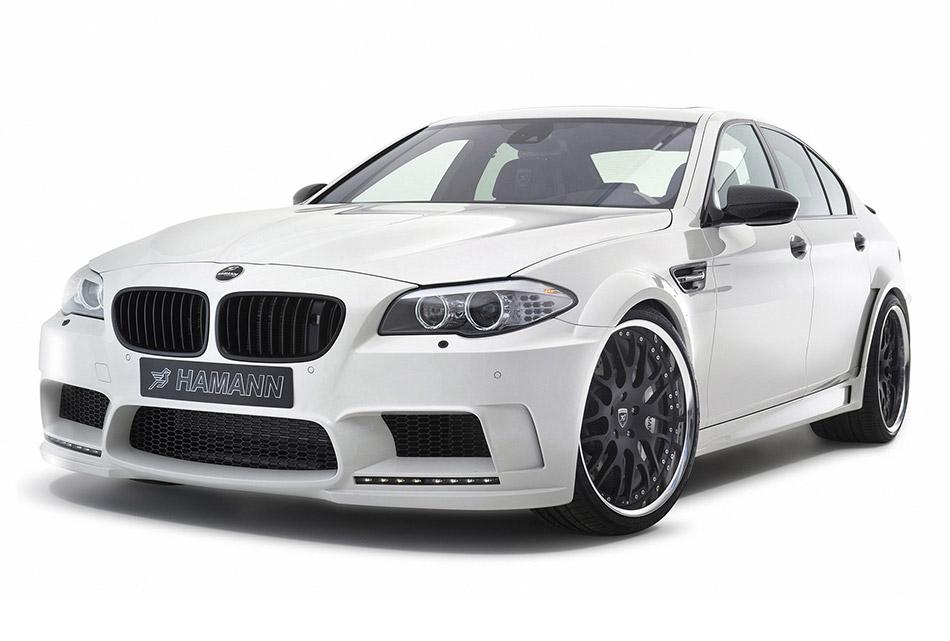 2012 Hamann BMW M5 Front Angle