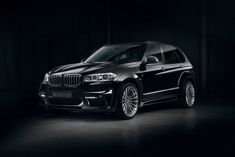 2014 Hamann BMW X5 Widebody Front Angle