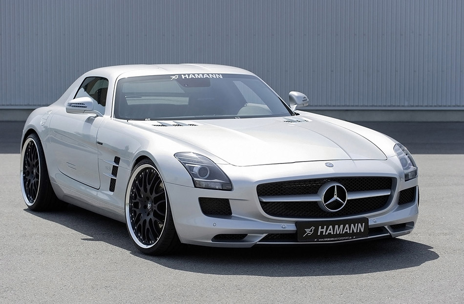 2011 Hamann Mercedes-Benz SLS AMG Front Angle