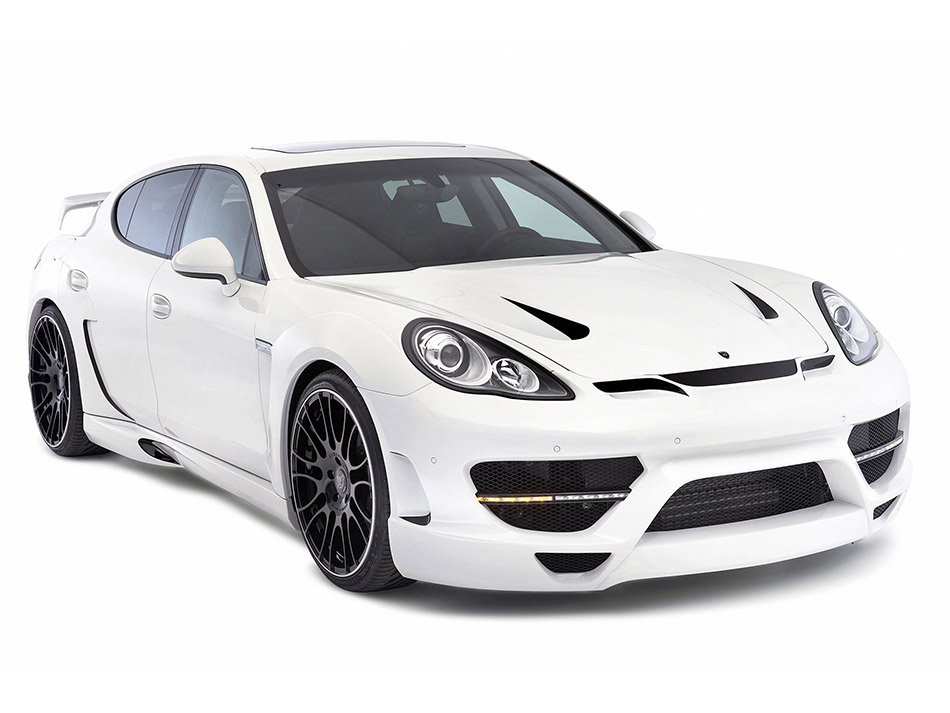 2011 Hamann Porsche Panamera Widebody Front Angle