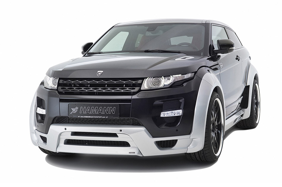 2012 Hamann Range Rover Evoque Front Angle