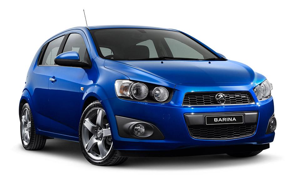 2011 Holden Barina Front Angle