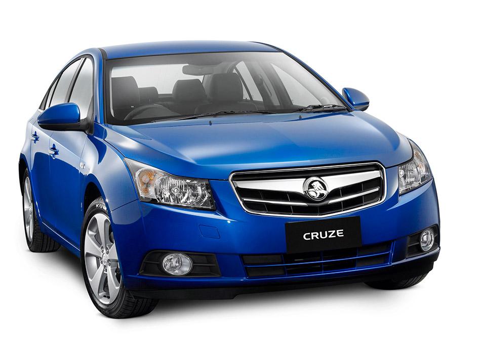 2009 Holden Cruze Sedan Front Angle