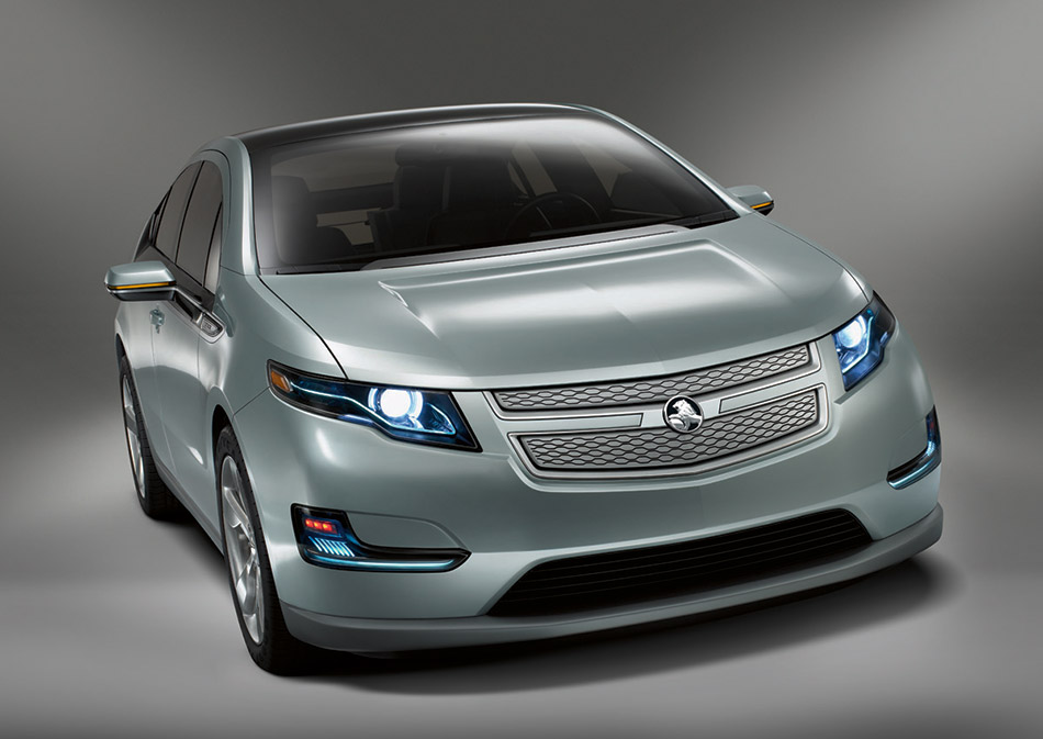 2011 Holden Volt Front Angle