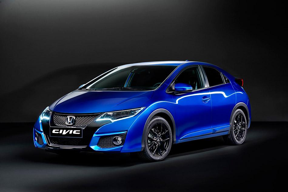 2015 Honda Civic Sport Front Angle