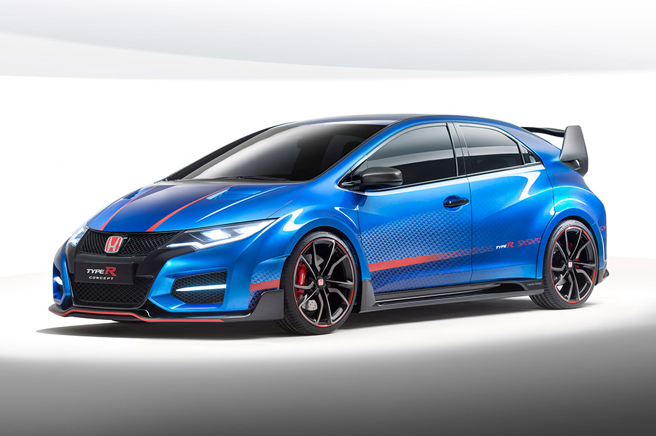 2015 Honda Civic Type R Concept II Front Angle