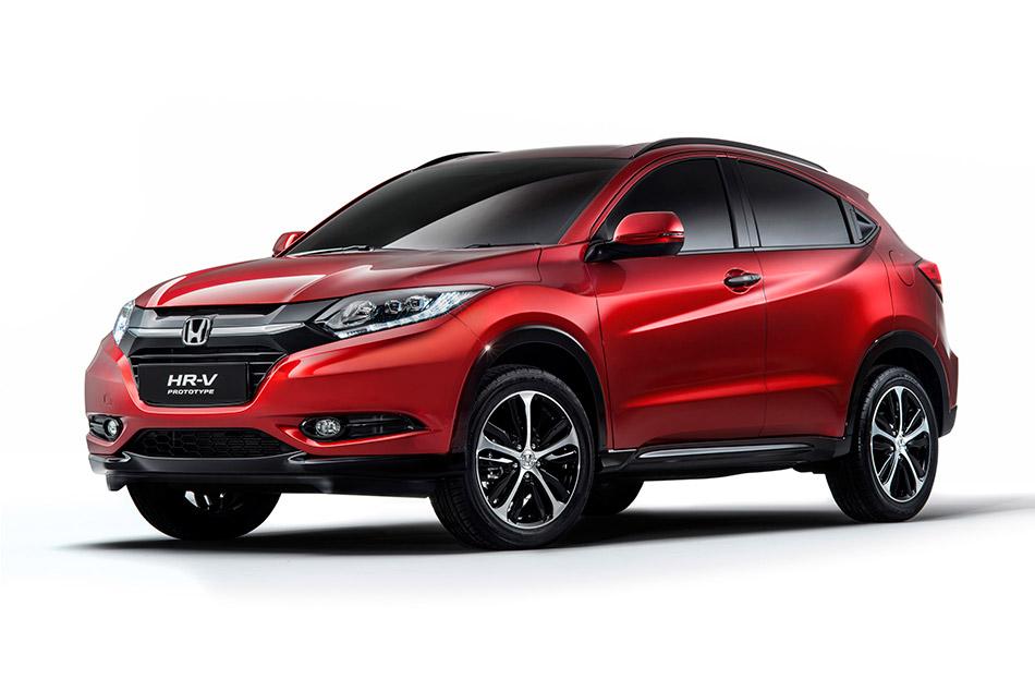 2015 Honda HR-V Prototype Front Angle