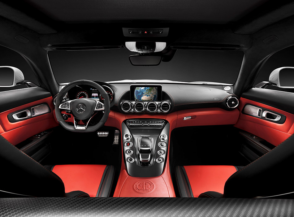 2016 Mercedes-Benz AMG GT Interior