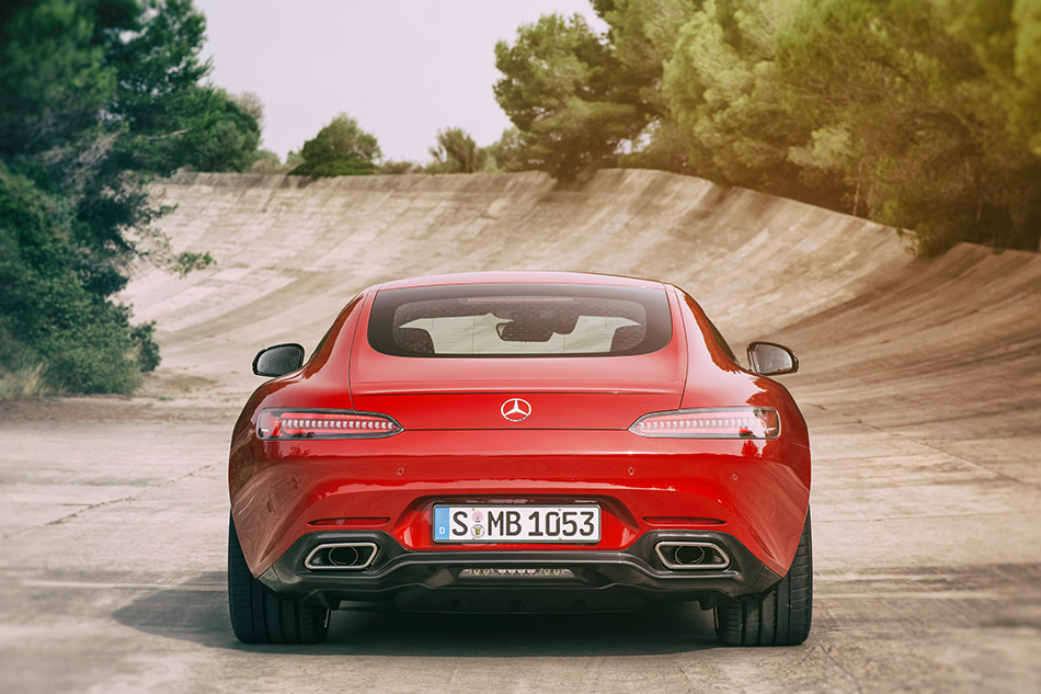 2016 Mercedes-Benz AMG GT Rear