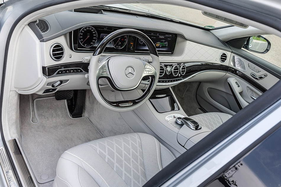 2015 Mercedes-Benz S550 Plug-In Hybrid Interior
