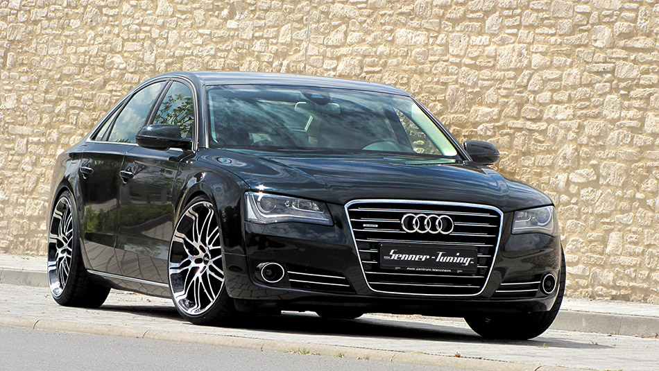 2014 Senner Tuning Audi A8 Front Angle