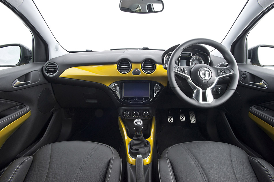 2014 Vauxhall Adam Rocks Air Interior