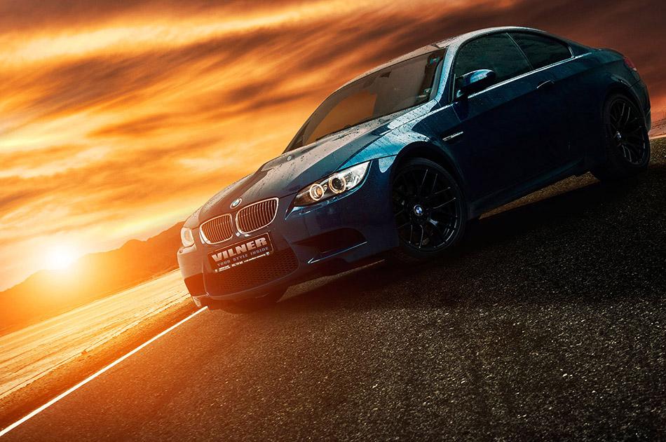 2014 Vilner BMW E92 M3 Front Angle