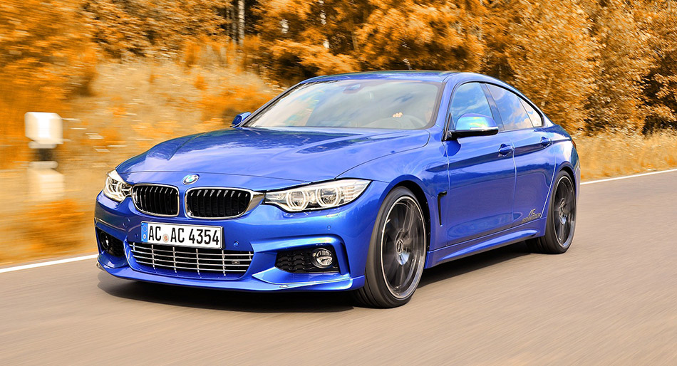 2014 AC Schnitzer BMW 4-Series Gran Coupe Front Angle
