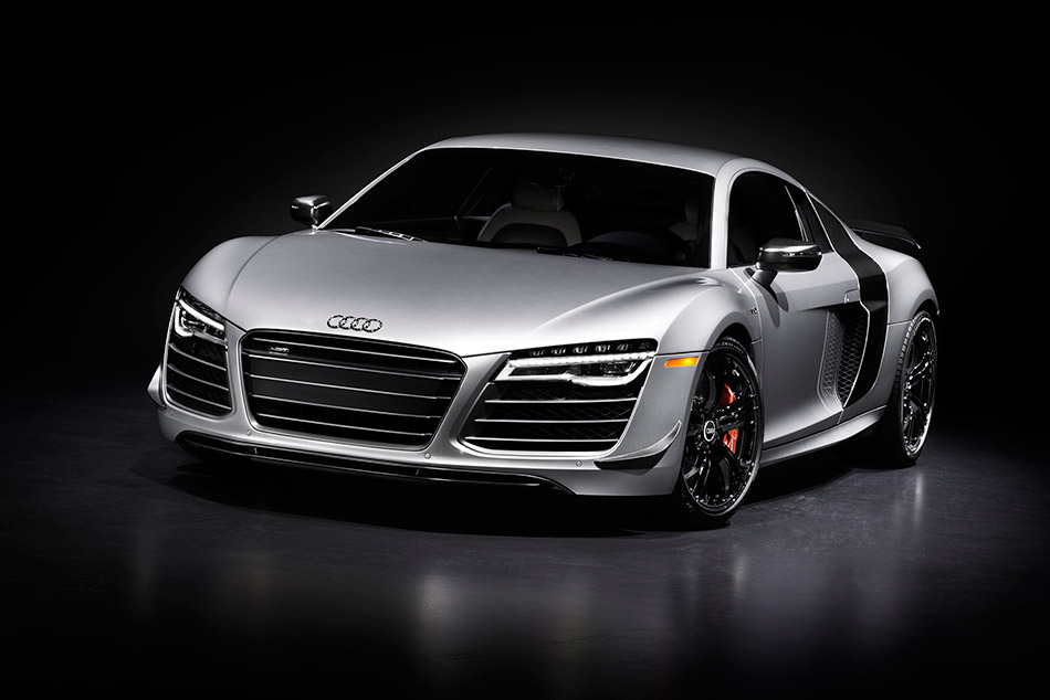2015 Audi R8 Competition Front Angle