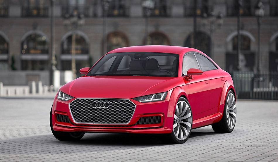 2014 Audi TT Sportback Concept Front Angle
