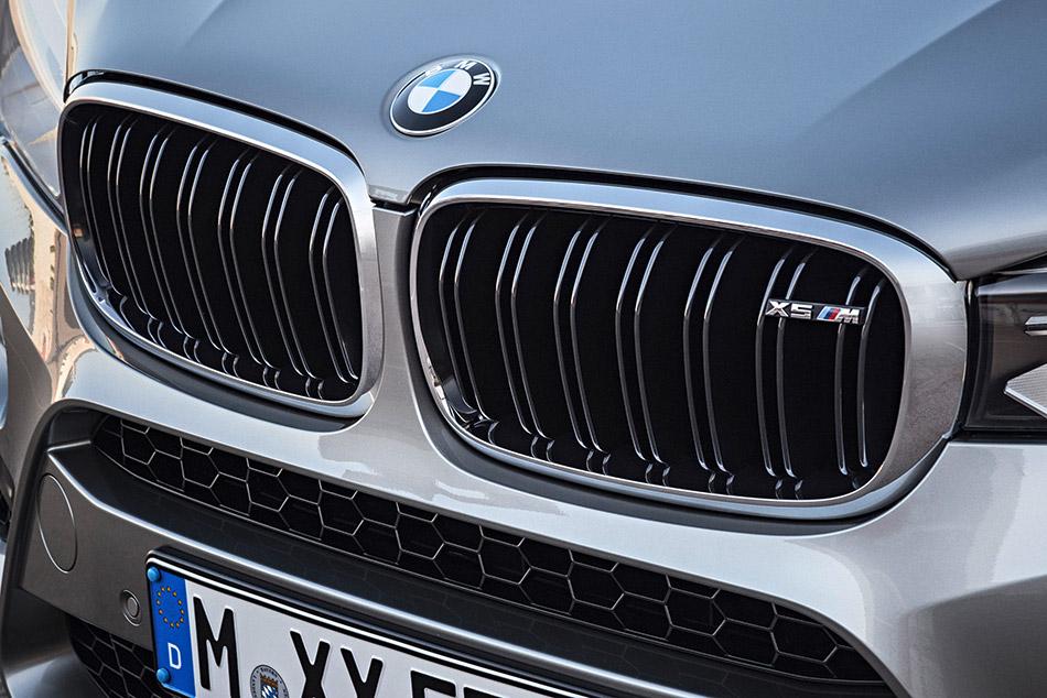 2016 BMW X5 M air intake grille