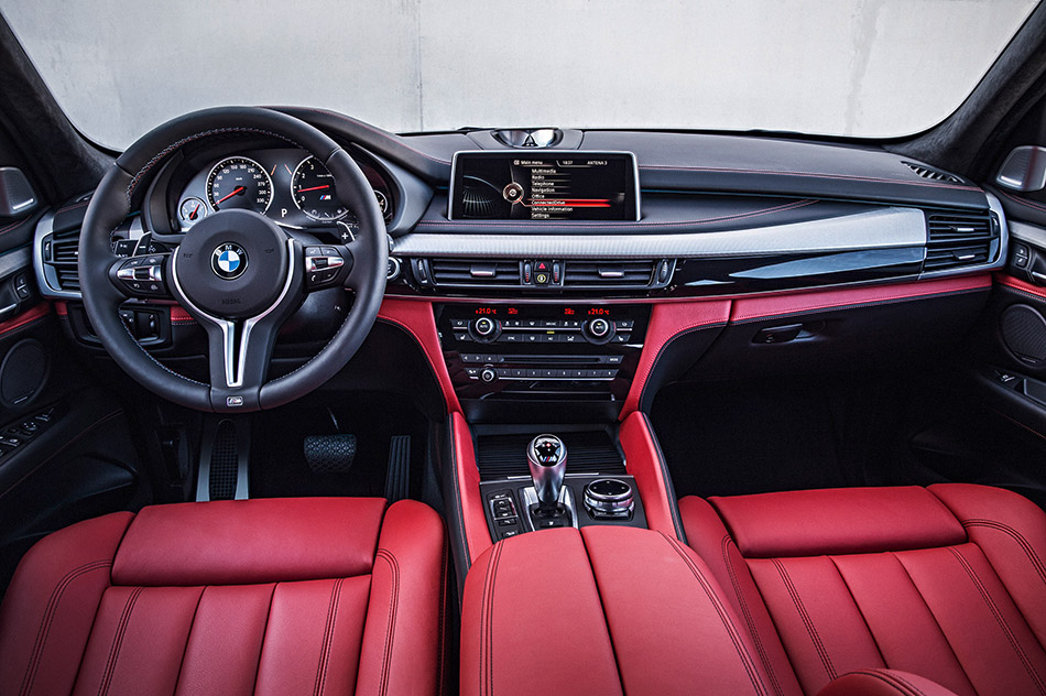 2016 BMW X5 M Interior
